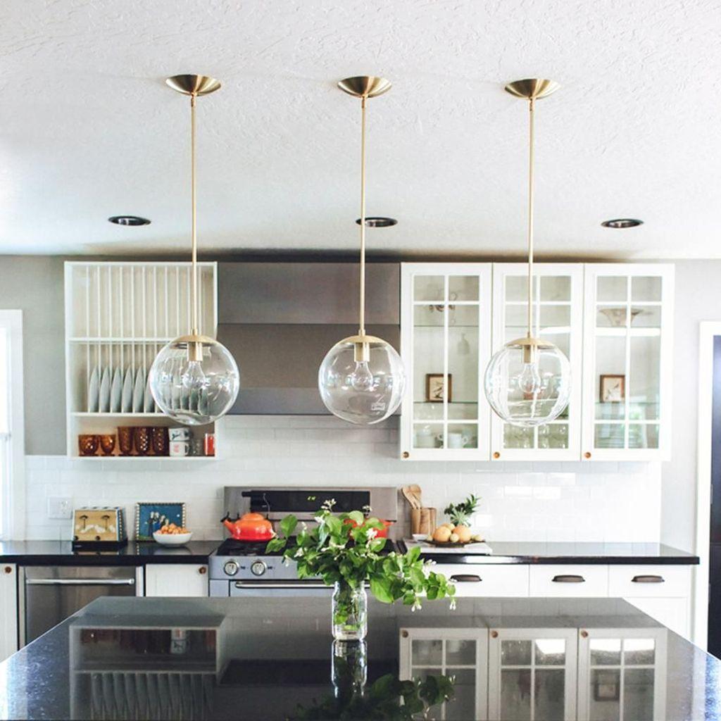 Wonderful Kitchen Lighting Ideas To Make It Look More Beautiful 19