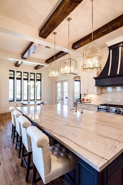 Wonderful Kitchen Lighting Ideas To Make It Look More Beautiful 27