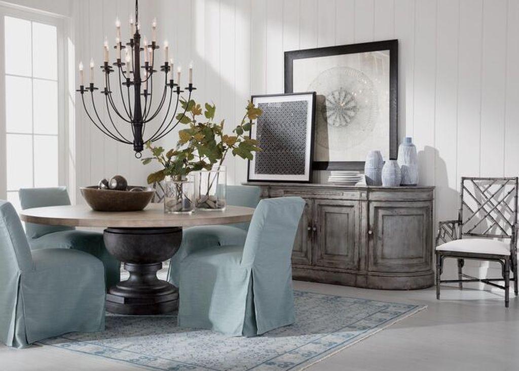 Inspiring Dining Room Buffet Decor Ideas 02
