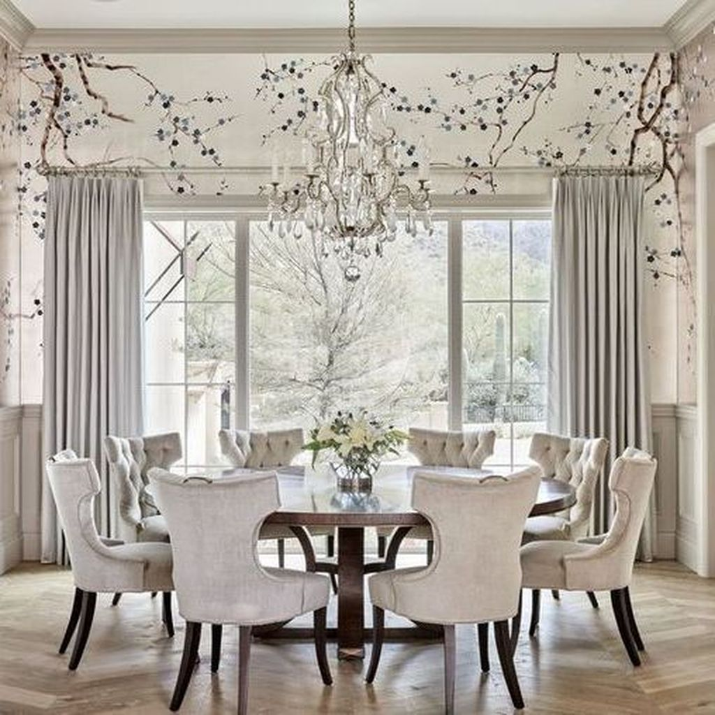 Nice Transitional Dining Room Design Ideas 11