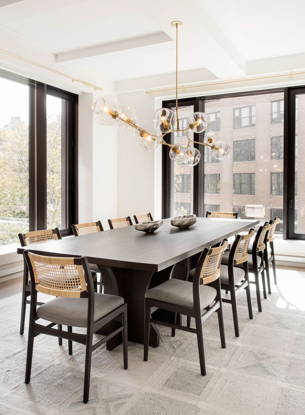 Nice Transitional Dining Room Design Ideas 24