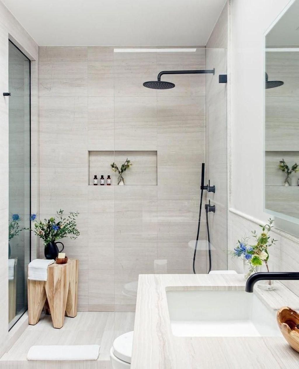 Popular Contemporary Bathroom Design Ideas 18