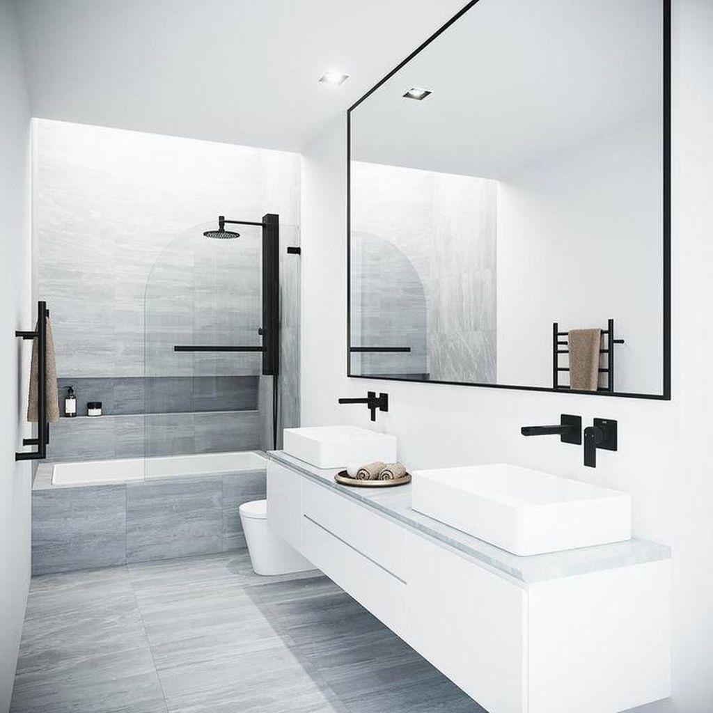 Popular Contemporary Bathroom Design Ideas 19