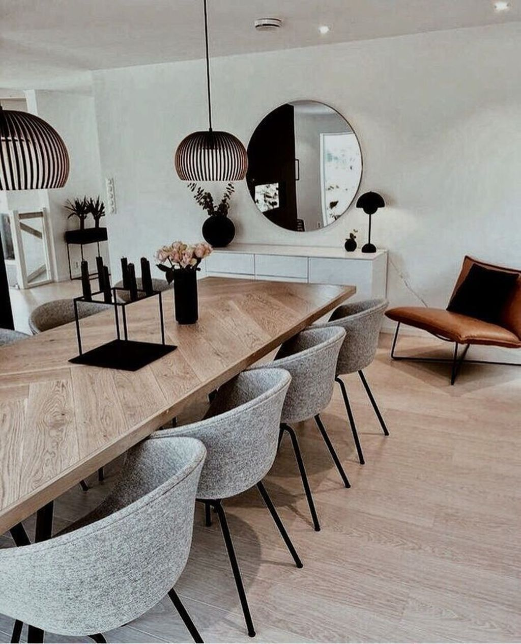 Stunning Dining Room Table Design With Modern Style 03