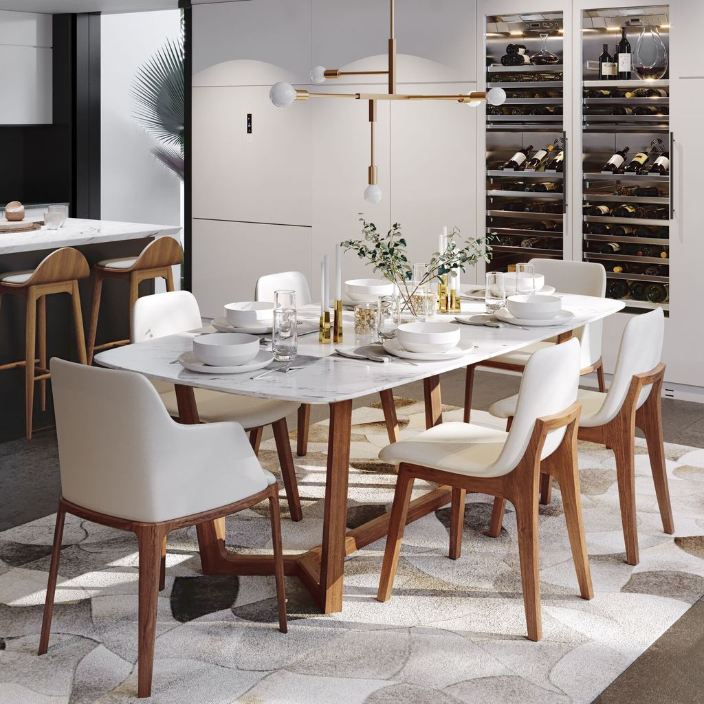 Stunning Dining Room Table Design With Modern Style 17
