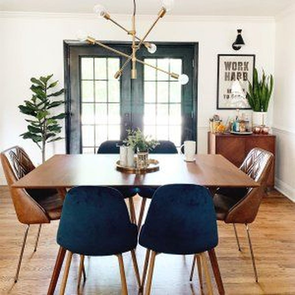 Stunning Dining Room Table Design With Modern Style 19