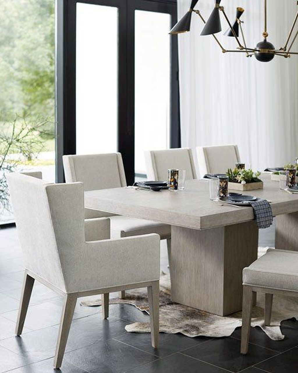 Stunning Dining Room Table Design With Modern Style 28