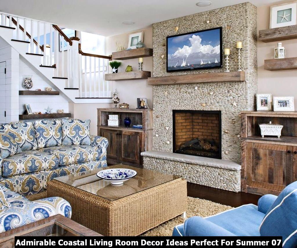 Admirable Coastal Living Room Decor Ideas Perfect For Summer 07