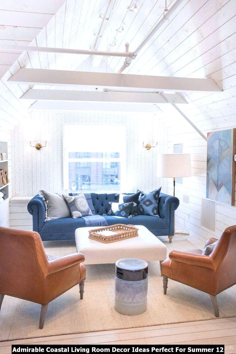 Admirable Coastal Living Room Decor Ideas Perfect For Summer 12