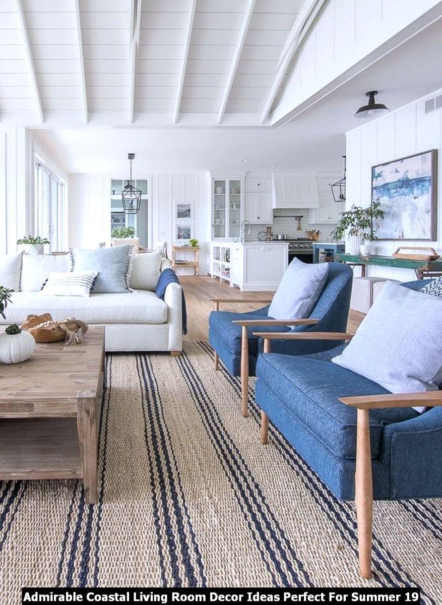 Admirable Coastal Living Room Decor Ideas Perfect For Summer 19