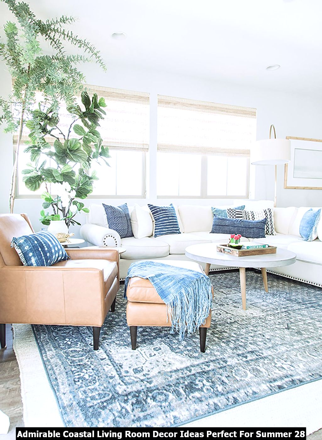 Admirable Coastal Living Room Decor Ideas Perfect For Summer 28