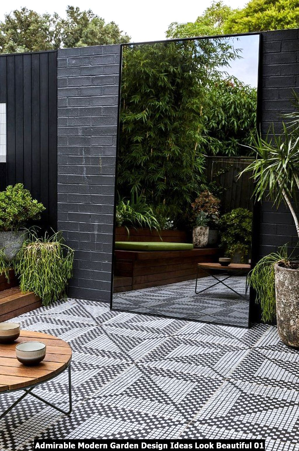 Admirable Modern Garden Design Ideas Look Beautiful 01