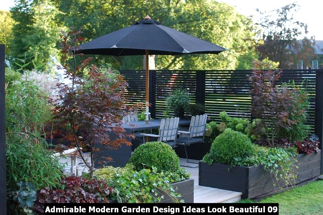 Admirable Modern Garden Design Ideas Look Beautiful 09