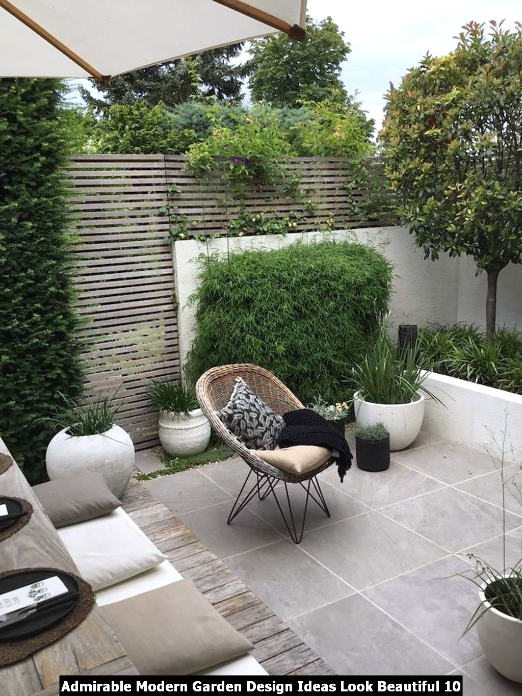Admirable Modern Garden Design Ideas Look Beautiful 10