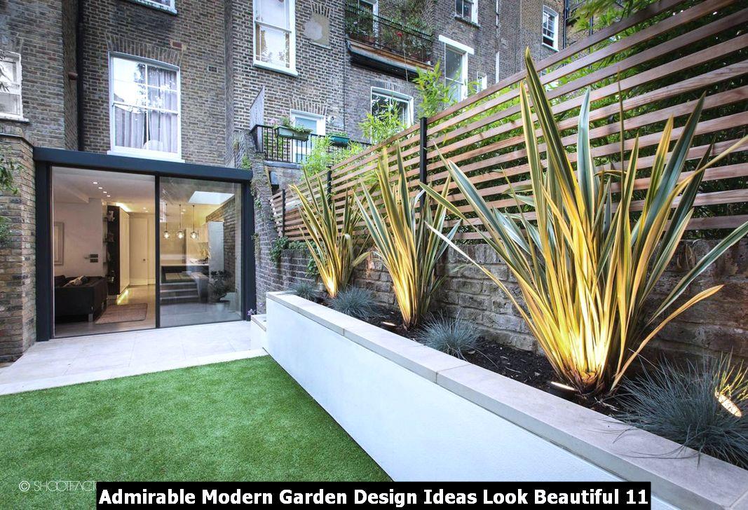 Admirable Modern Garden Design Ideas Look Beautiful 11