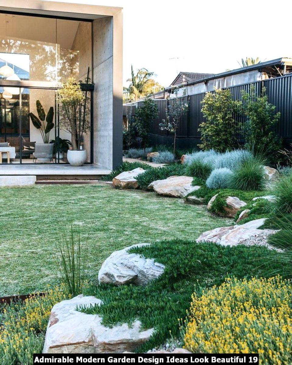 Admirable Modern Garden Design Ideas Look Beautiful 19