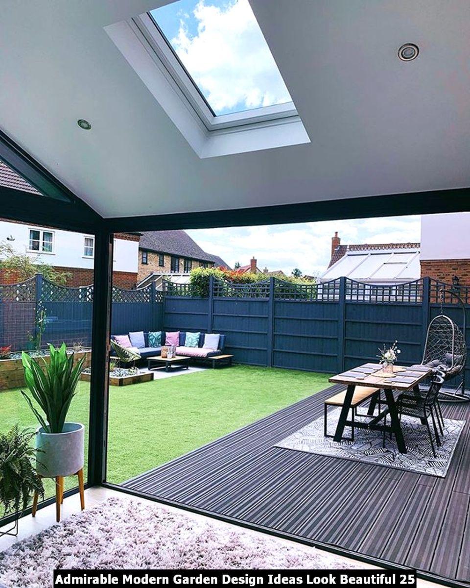 Admirable Modern Garden Design Ideas Look Beautiful 25