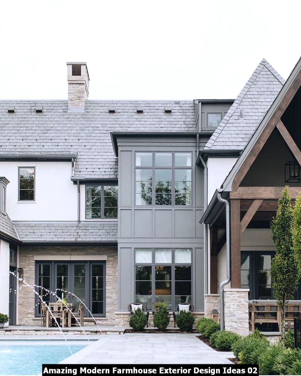 Amazing Modern Farmhouse Exterior Design Ideas 02