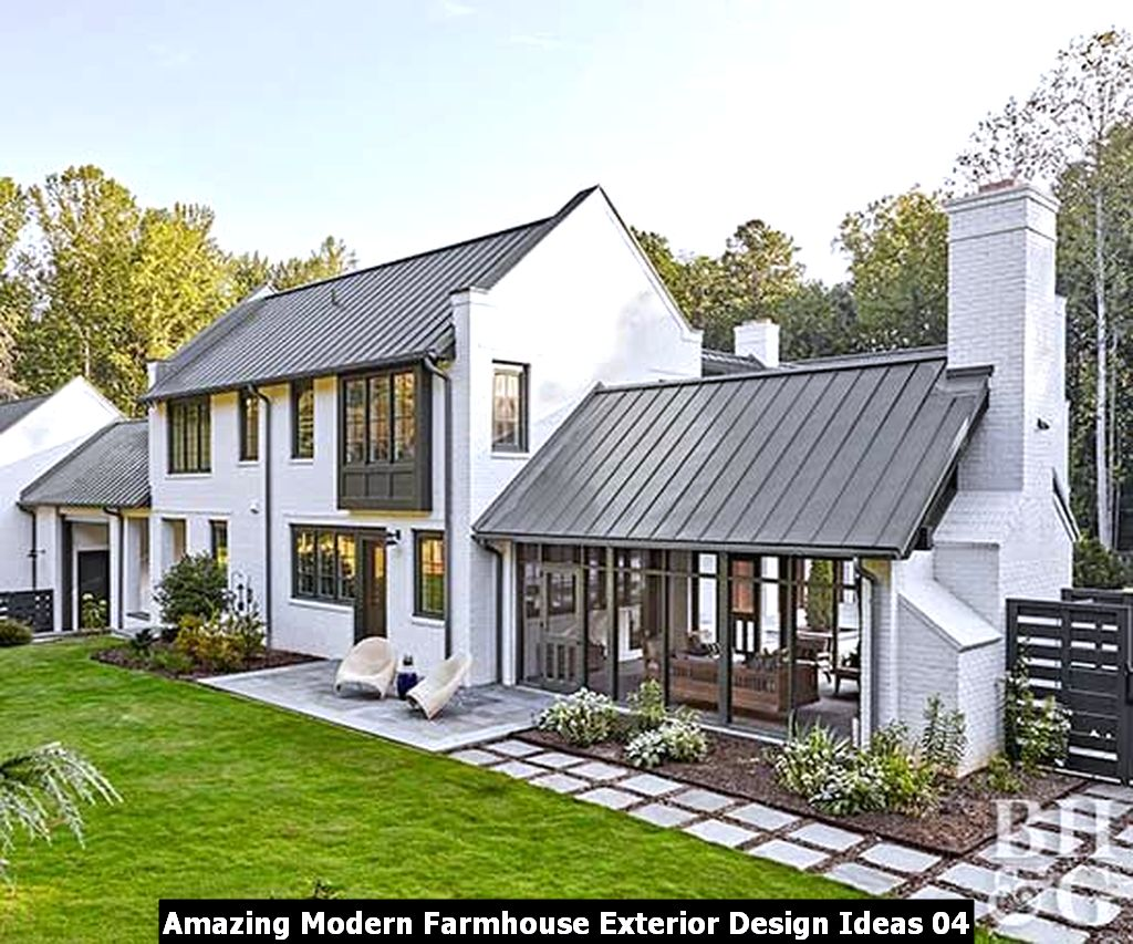 Amazing Modern Farmhouse Exterior Design Ideas 04