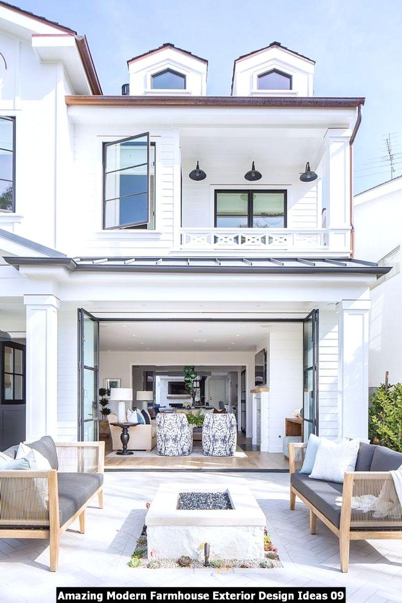 Amazing Modern Farmhouse Exterior Design Ideas 09