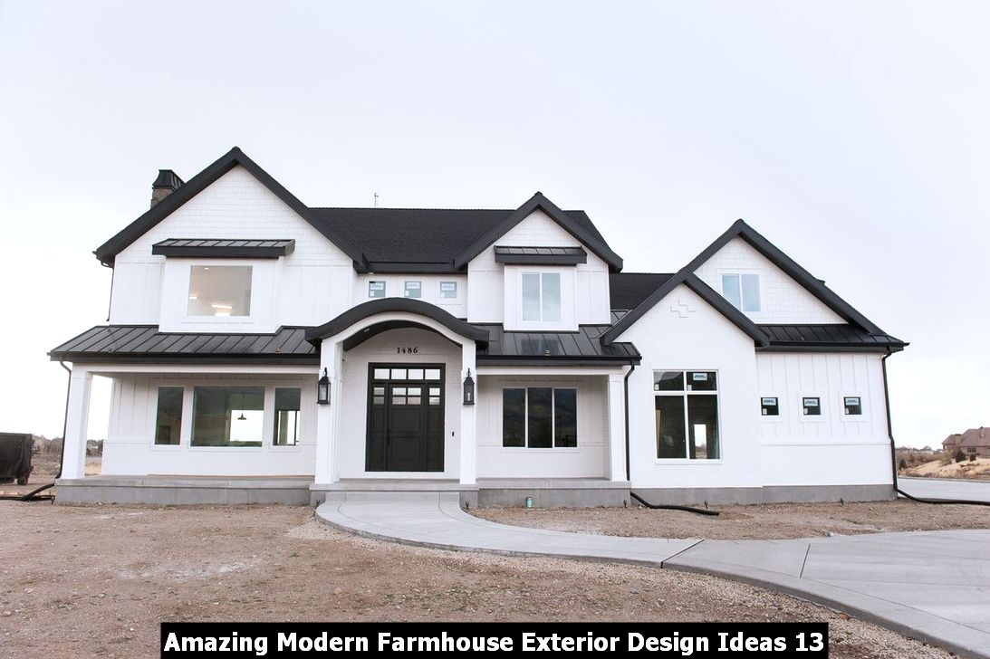 Amazing Modern Farmhouse Exterior Design Ideas 13