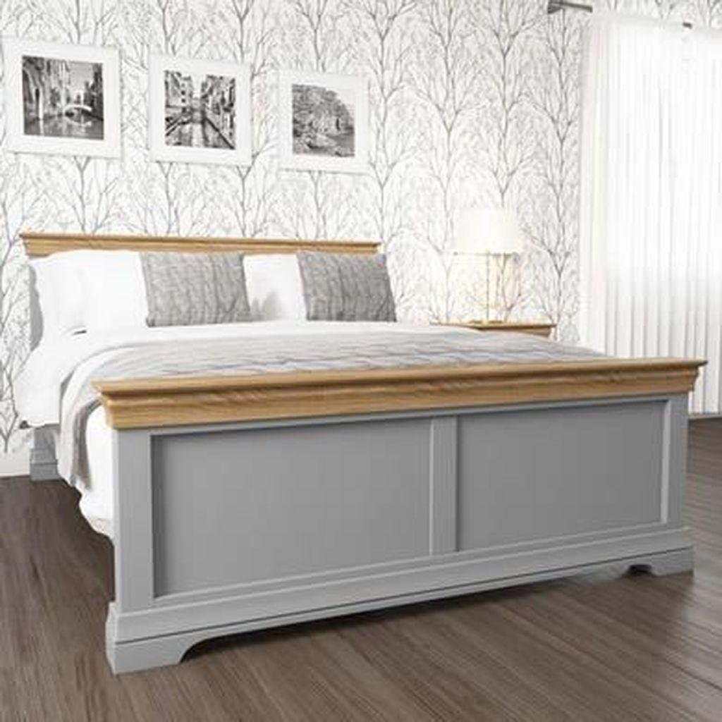Amazing Vintage Wooden Bed Frame Design Ideas 03
