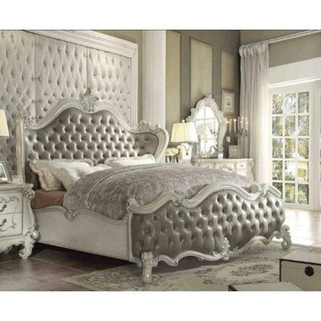 Amazing Vintage Wooden Bed Frame Design Ideas 10