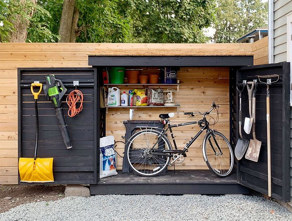 Awesome Backyard Storage Sheds Design Ideas 08