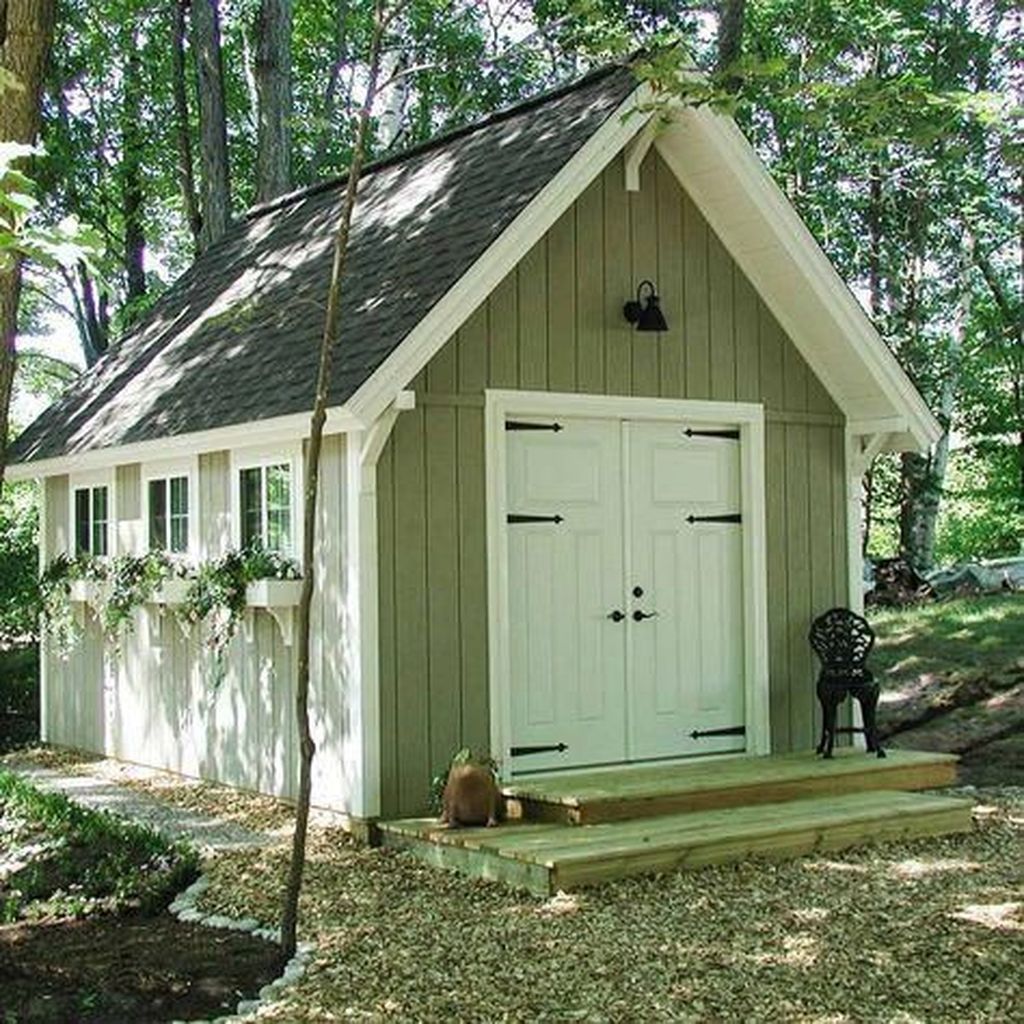 Awesome Backyard Storage Sheds Design Ideas 10
