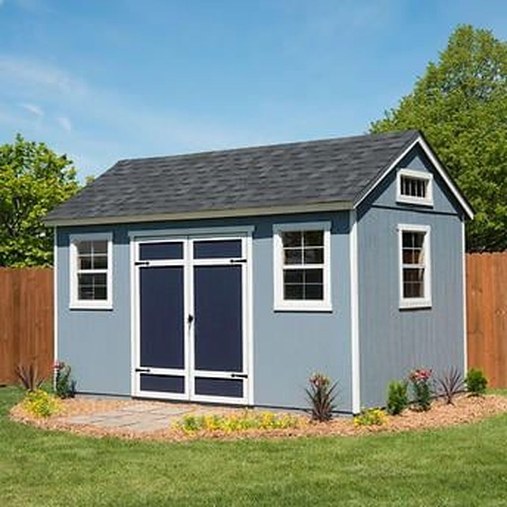 Awesome Backyard Storage Sheds Design Ideas 21