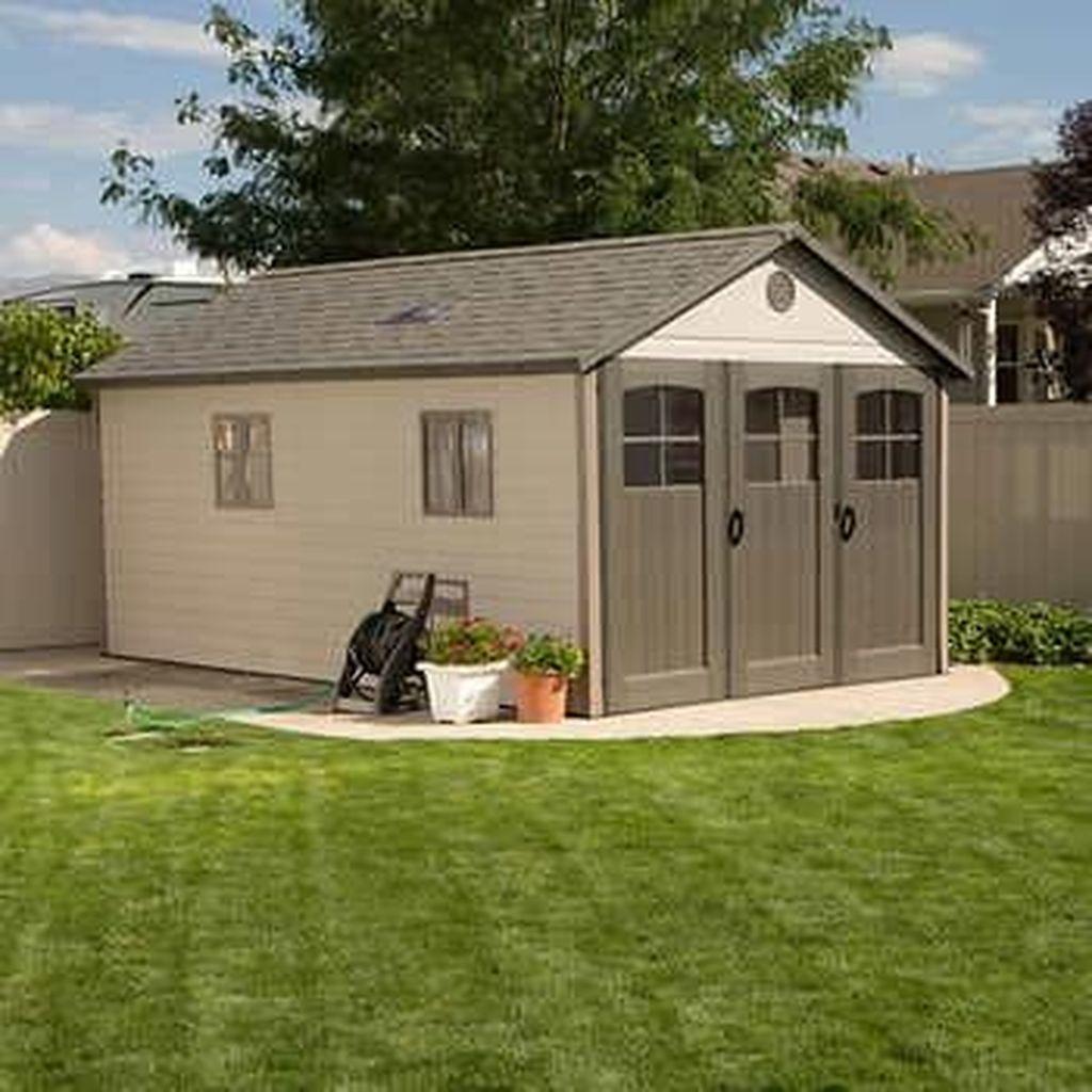 Awesome Backyard Storage Sheds Design Ideas 24