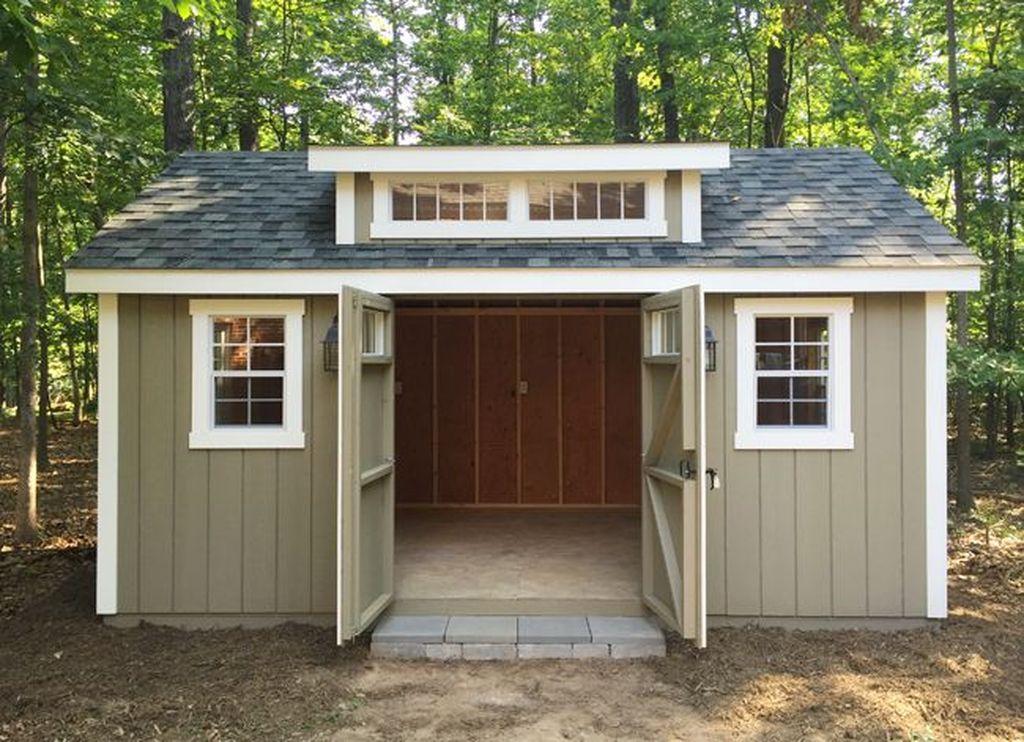 Awesome Backyard Storage Sheds Design Ideas 25