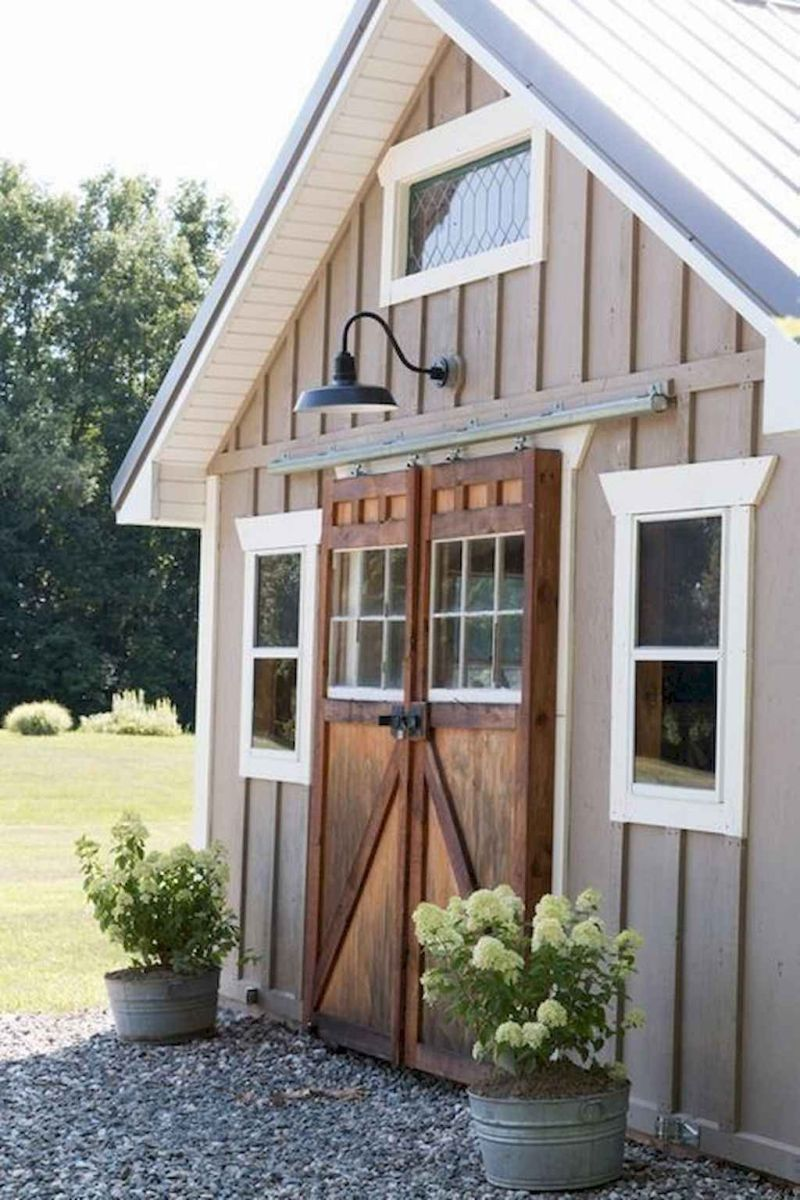 Awesome Backyard Storage Sheds Design Ideas 30