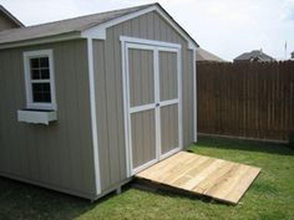 Awesome Backyard Storage Sheds Design Ideas 32