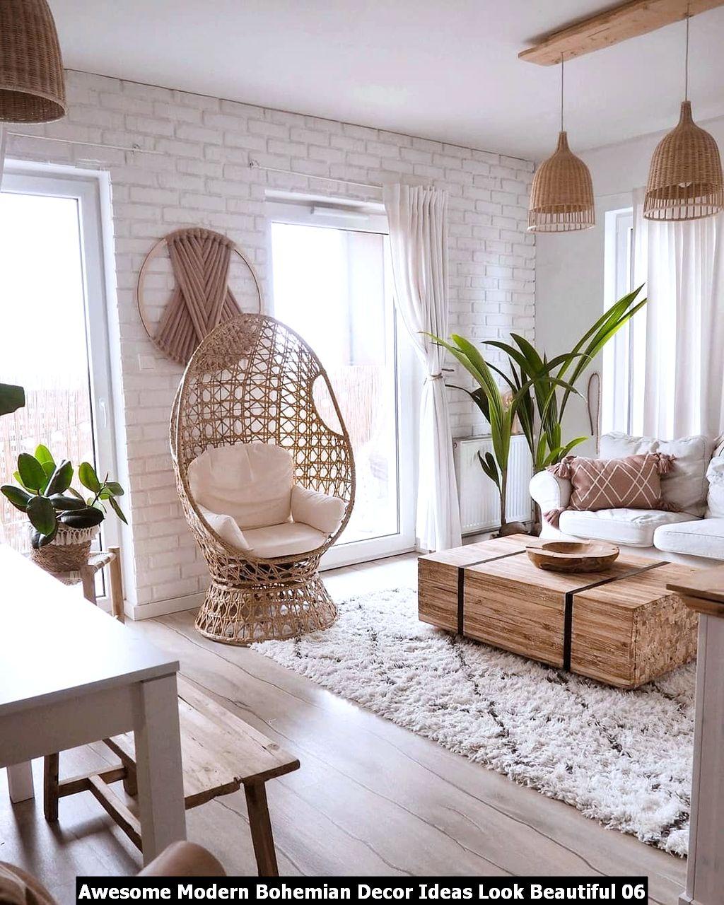 Awesome Modern Bohemian Decor Ideas Look Beautiful 06