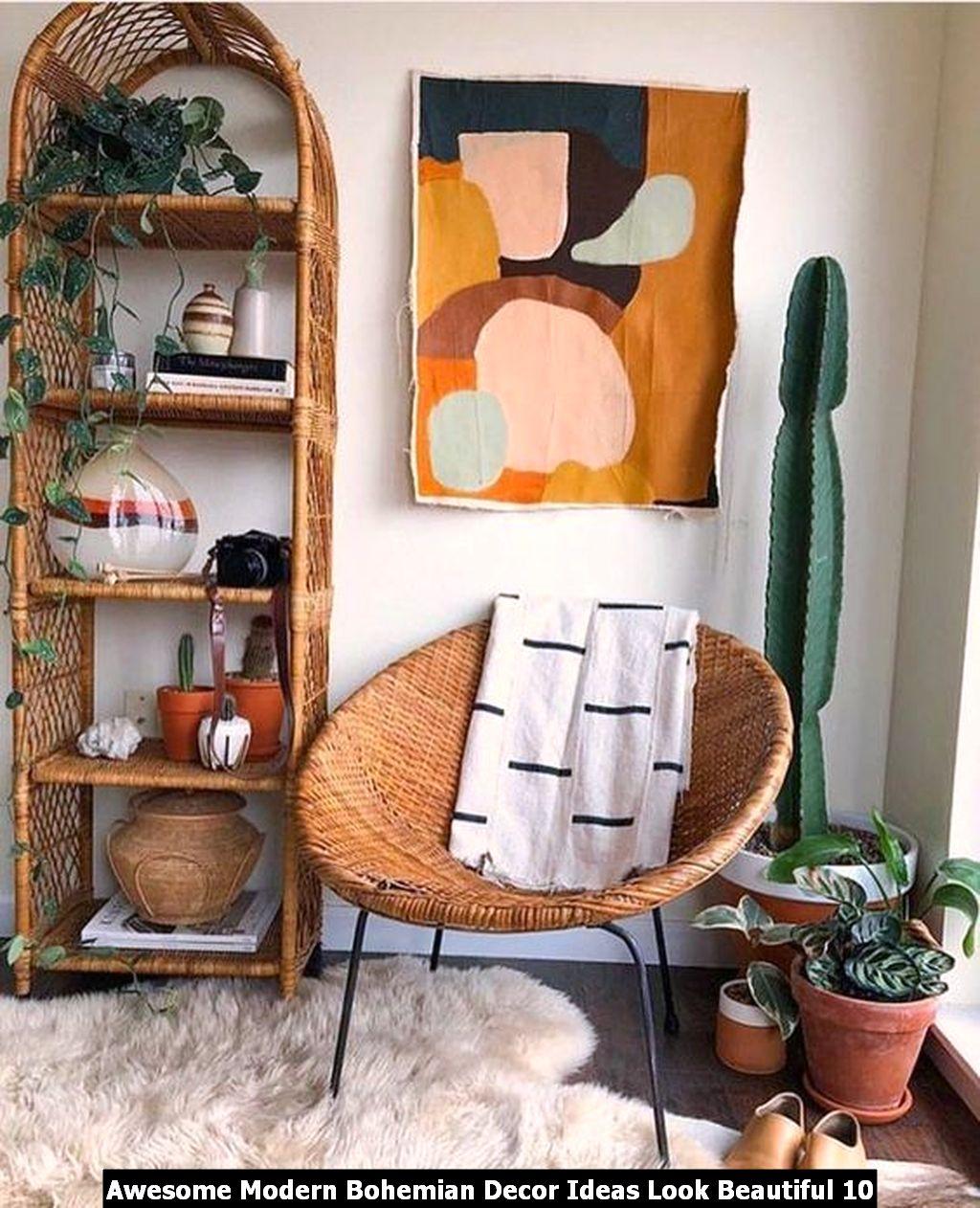 Awesome Modern Bohemian Decor Ideas Look Beautiful 10