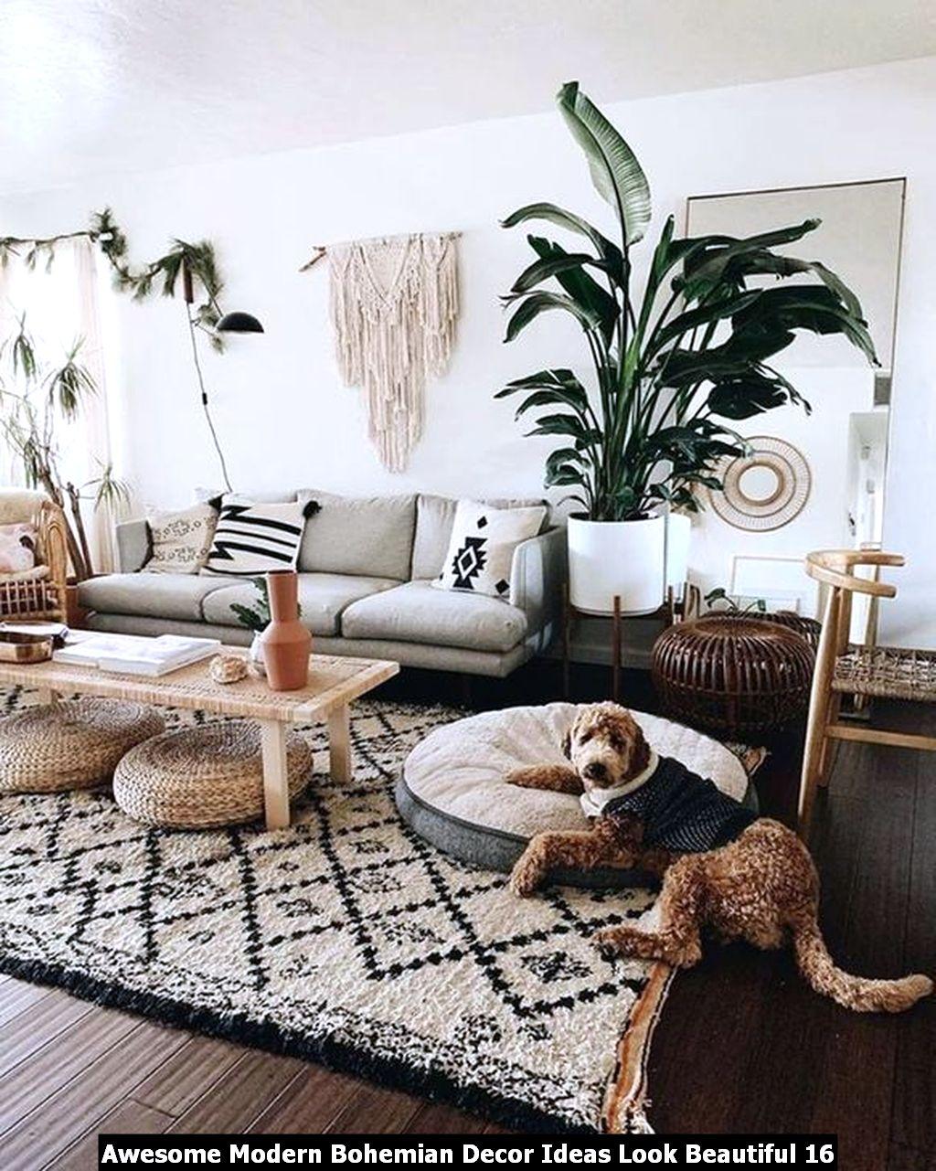 Awesome Modern Bohemian Decor Ideas Look Beautiful 16