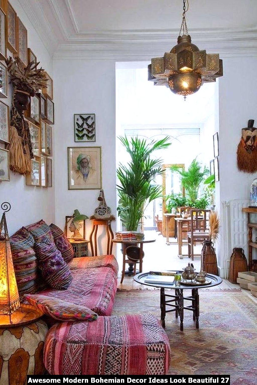 Awesome Modern Bohemian Decor Ideas Look Beautiful 27