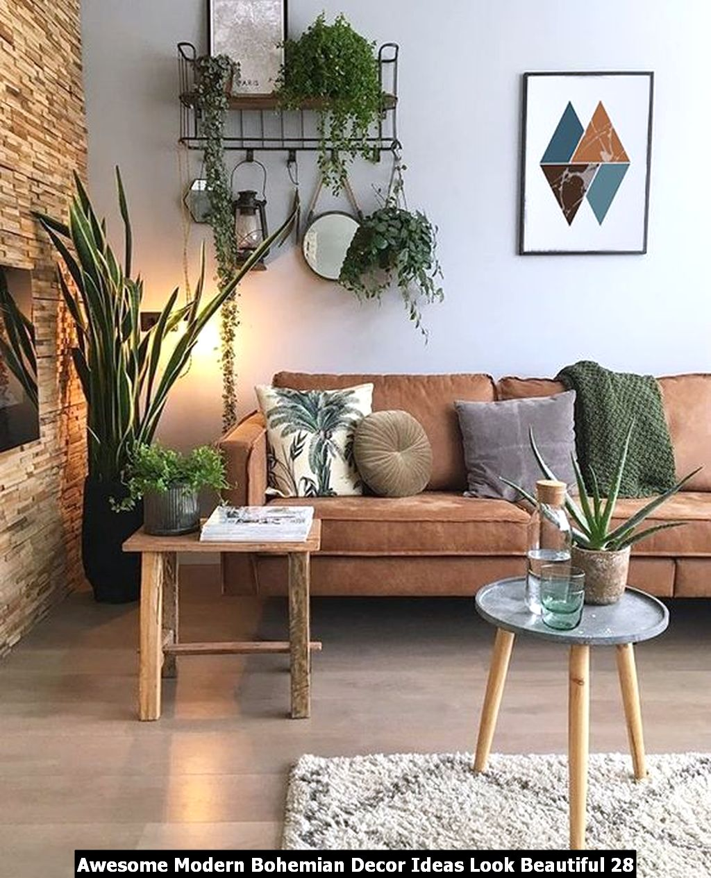 Awesome Modern Bohemian Decor Ideas Look Beautiful 28