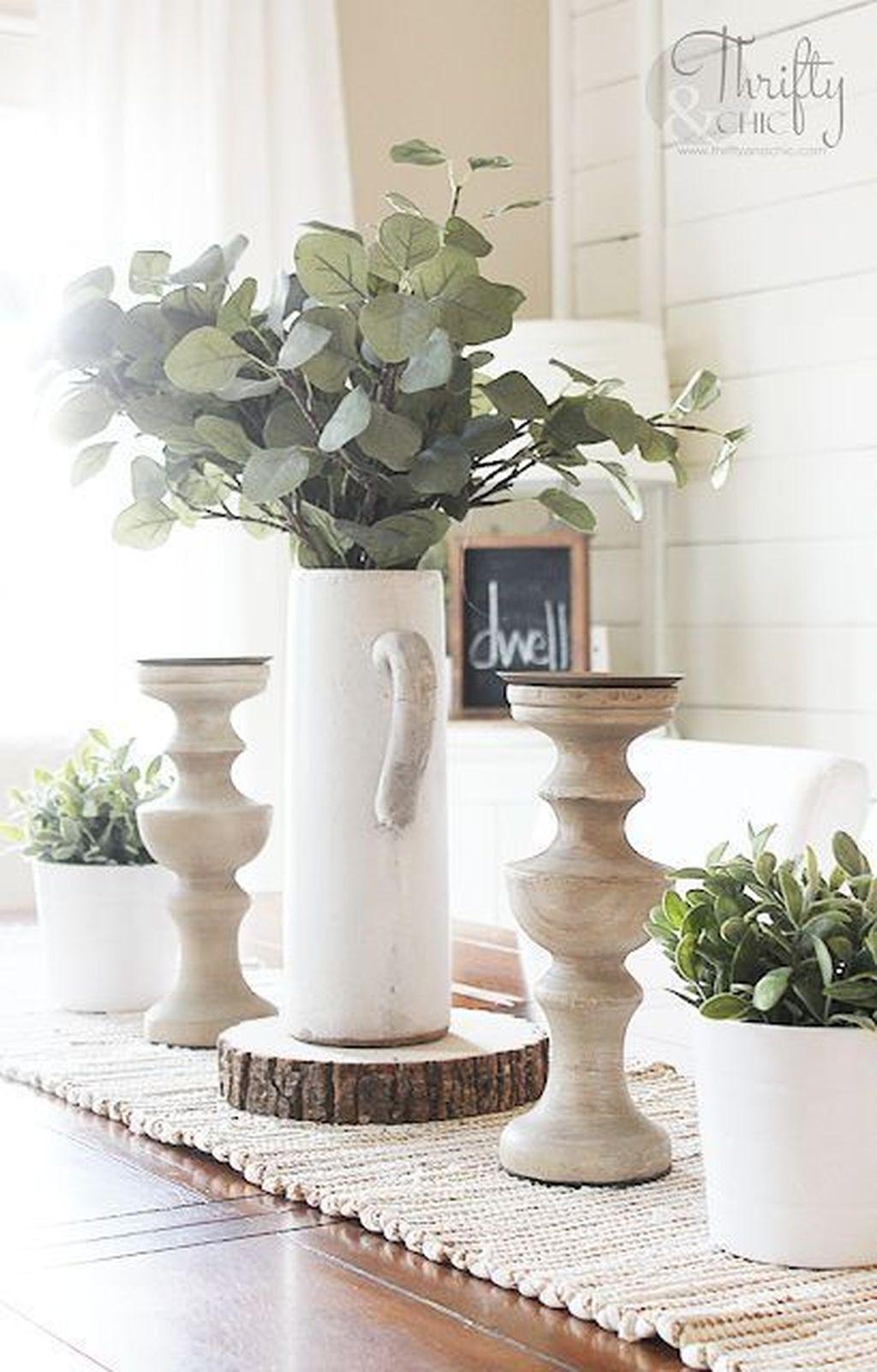 Beautiful Farmhouse Spring Table Decor Ideas 26