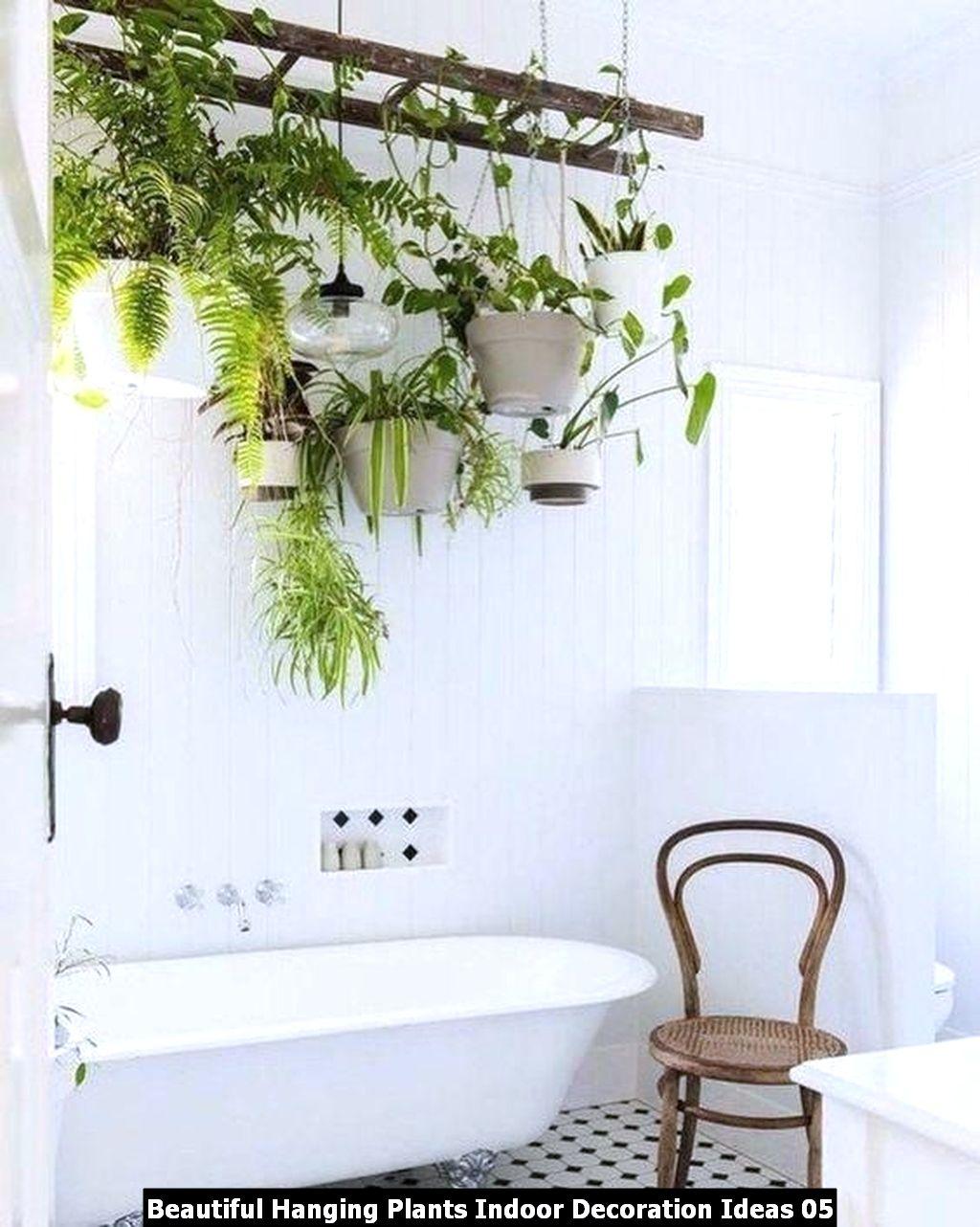 Beautiful Hanging Plants Indoor Decoration Ideas 05