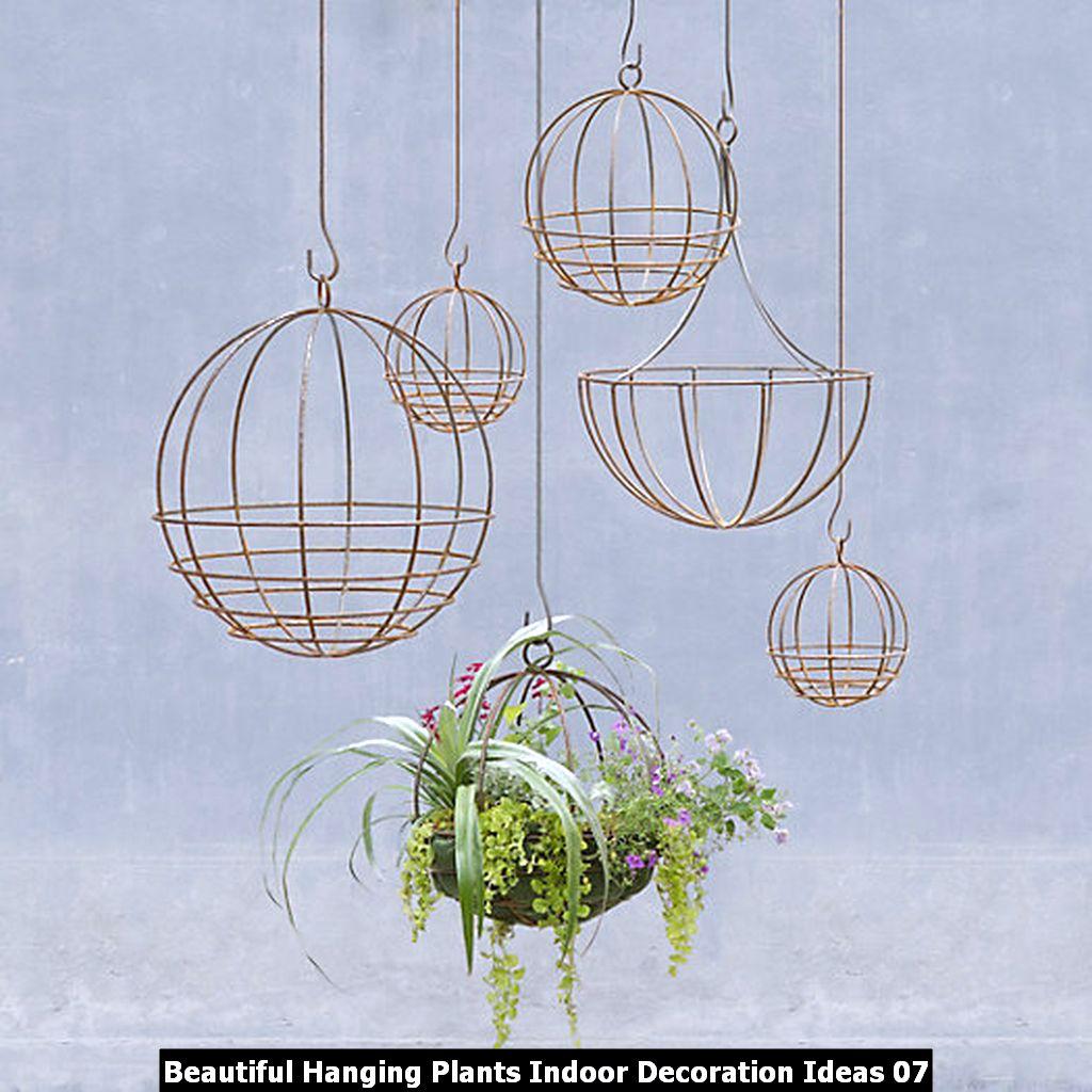 Beautiful Hanging Plants Indoor Decoration Ideas 07