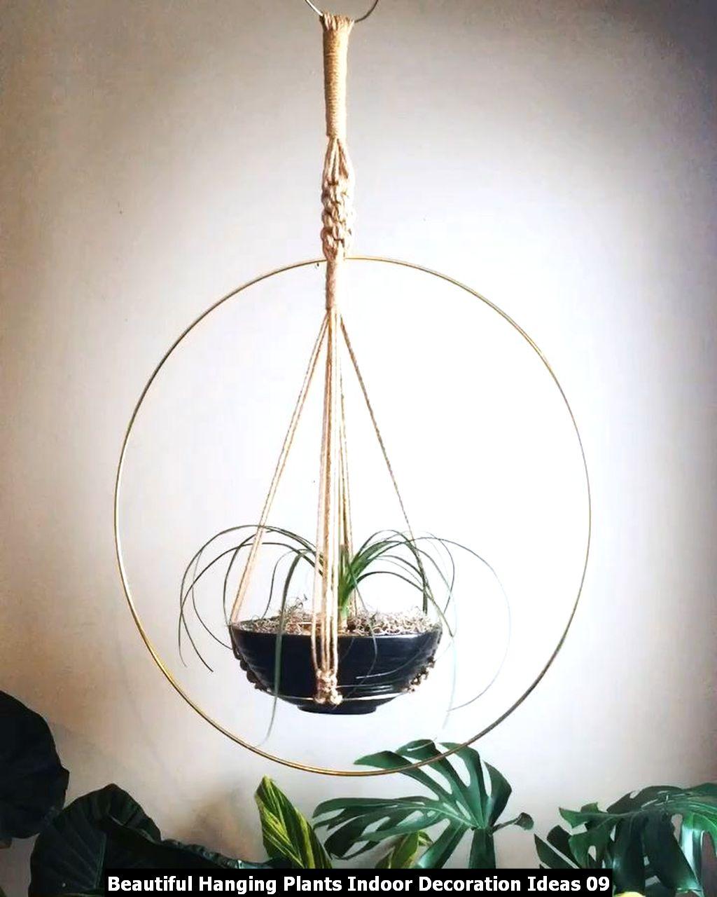 Beautiful Hanging Plants Indoor Decoration Ideas 09