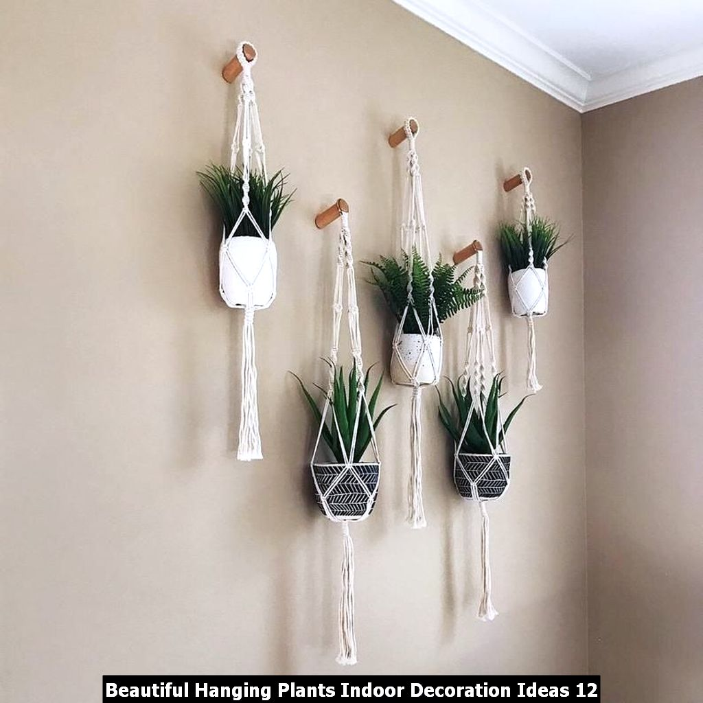 Beautiful Hanging Plants Indoor Decoration Ideas 12
