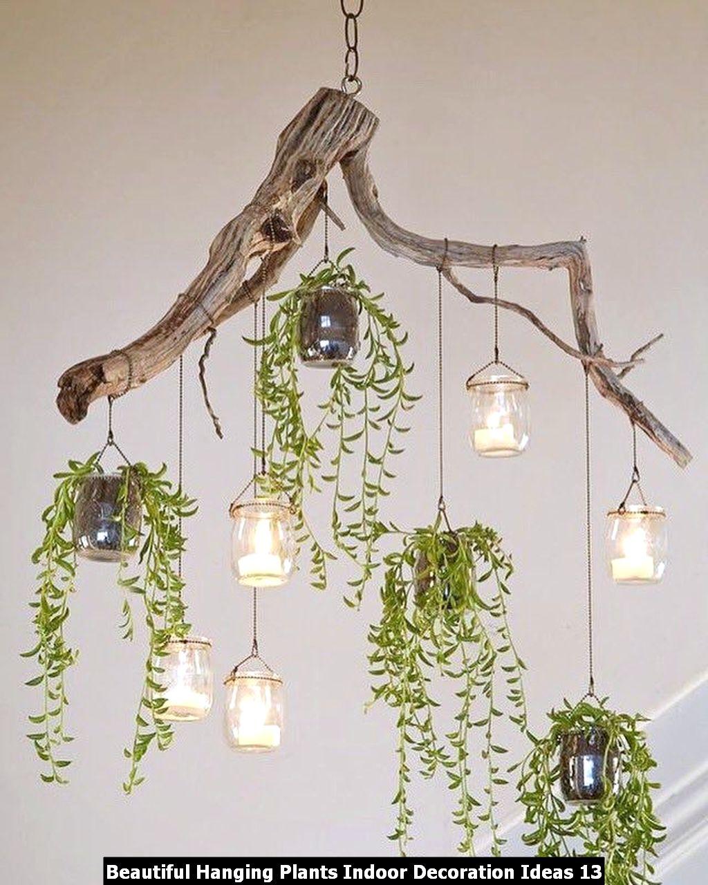 Beautiful Hanging Plants Indoor Decoration Ideas 13