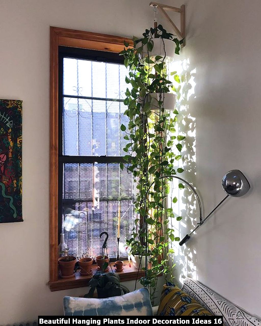Beautiful Hanging Plants Indoor Decoration Ideas 16