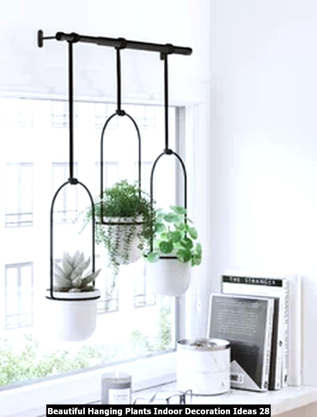 Beautiful Hanging Plants Indoor Decoration Ideas 28