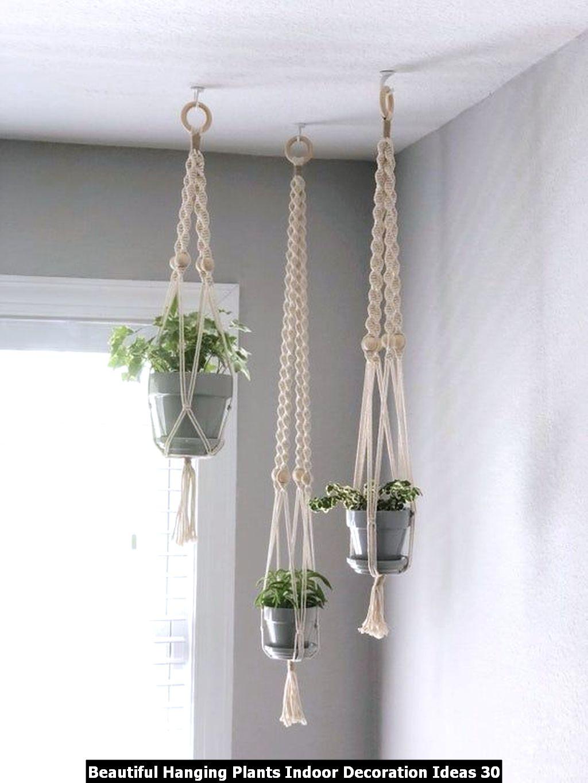Beautiful Hanging Plants Indoor Decoration Ideas 30