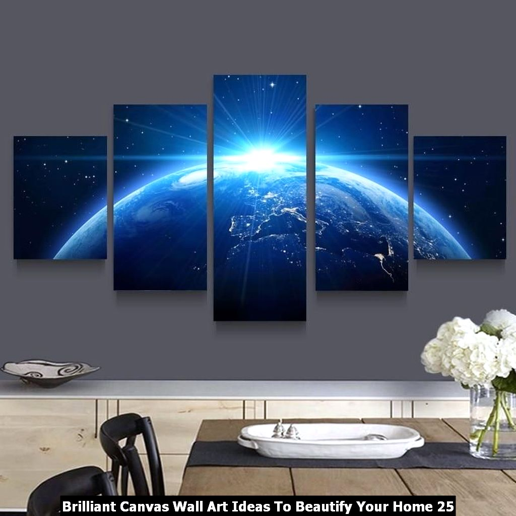 Brilliant Canvas Wall Art Ideas To Beautify Your Home 25