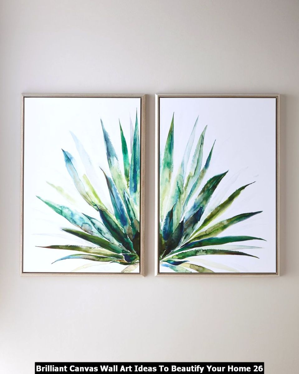 Brilliant Canvas Wall Art Ideas To Beautify Your Home 26